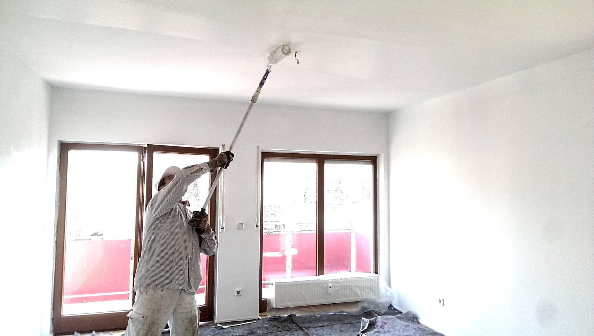 Malerarbeiten Renovierung Bad Homburgnach dem Umzug
